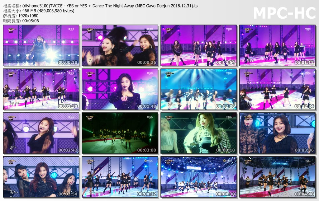 (dlvhpme3100)TWICE - YES or YES + Dance The Night Away (MBC Gayo Daejun 2018.12..jpg